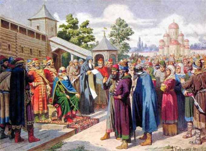 Русская правда и устав Ярослава