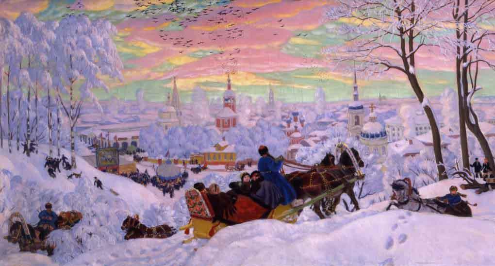 Масленица (картина Кустодиева)