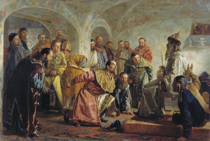 Николай Неврев, «Опричники»
