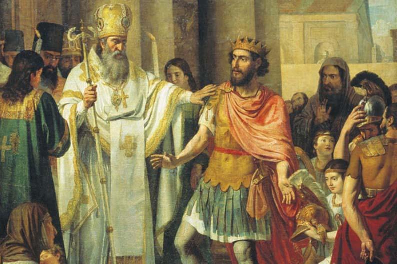 Крещение великого князя Владимира