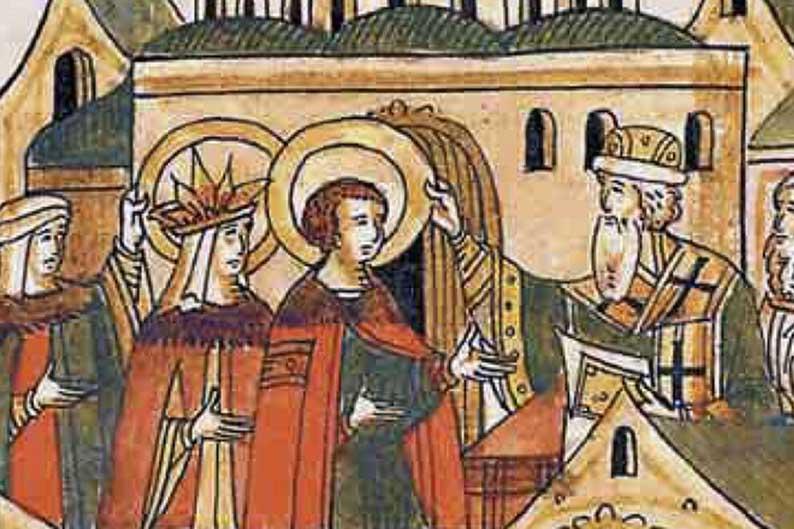 Венчание Соломонии Сабуровой и царя Василия III.